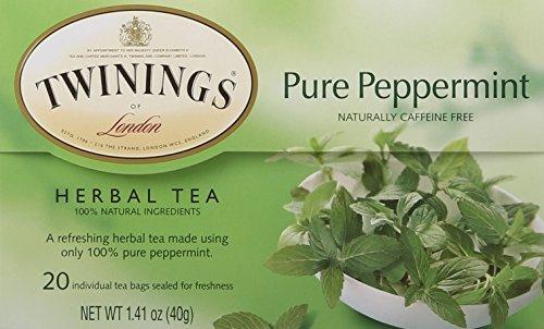 Tea Herbal Pantry (Twinings Pure Peppermint Herbal Tea, 1.41 Ounce)