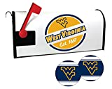 West Virginia Mountaineers Magnetic Mailbox Cover and Sticker Set
