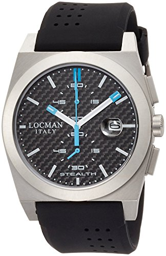 LOCMAN watch stealth classic Quartz Chronograph Men's 0202 020200CBFSK1GOK Men's [regular imported goods]