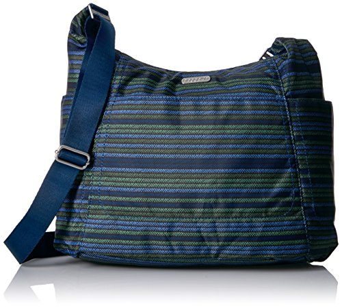 Baggallini Hobo Tote - Lightweight, Water-Resistant Travel Purse With Multiple Pockets and Removable Wristlet