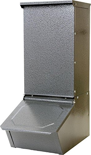 Miller Mfg Co Inc Single Door Hog Feeder- Gray 50 PounHGFS