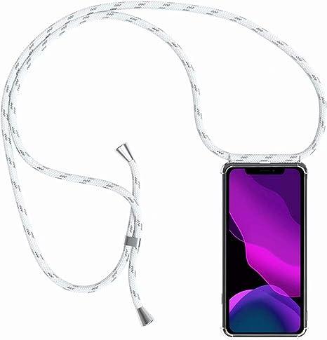 2ndSpring Funda con Cuerda Compatible con Samsung Galaxy J7 2016//J710,Colgante Collar Correa de Cuello Cadena Cord/ón,Pink