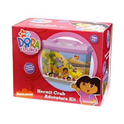 Penn-Plax Dora Hermit Crab Adventure Kit