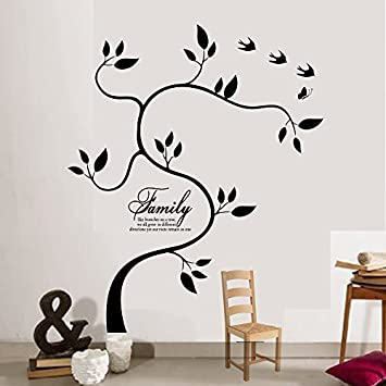 Amazon.com : Family Tree Wall Decal Family Photo Tree Vinyl Art Home ...