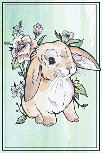Bunny Notebook - Bunny Journal: with BUNNIES INSIDE! This 6x9 inch Rabbit Journal / Rabbit notebook has lined pages for a bunny mom or dad to write - Bunny 9 Inch