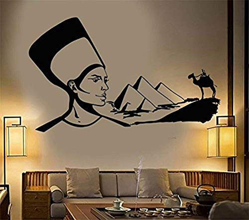 A Design World Quote Mirror Decal Quotes Vinyl Wall Decals Egypt Desert Camel Cleopatra Egyptian Queen for Living Room