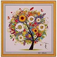 Oulensy 1x Multicolor Contado Pinturas de Punto