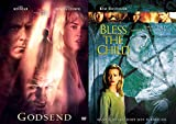 Evil is Born Godsend + Bless the Child DVD Mankind's last hope Double Feature Thriller Movie Set