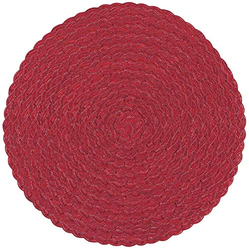 (Now Designs Helix Placemat Red, Set of 4 (1791004))