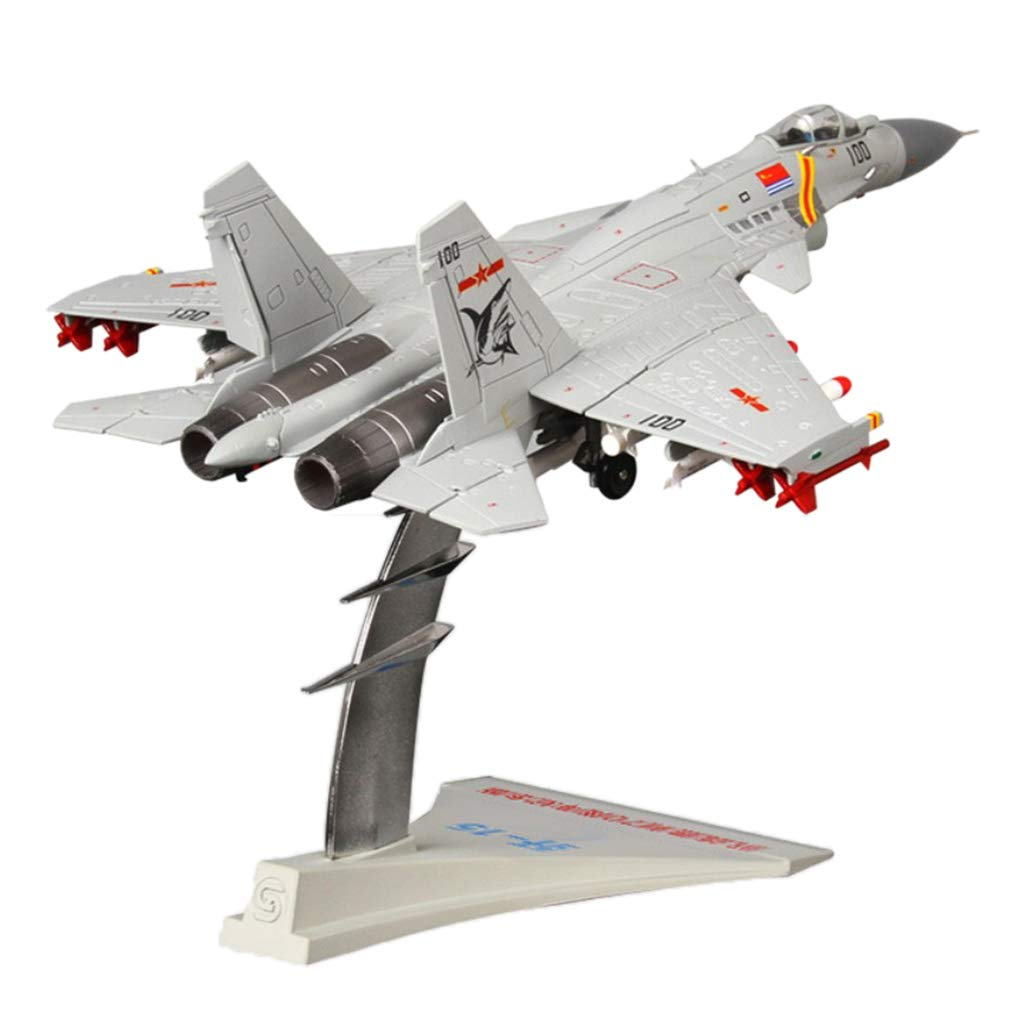 P Prettyia 1 72 Jian15 Fighter Alloy Model J15 Carrier Aircraft Airplane Military Plane Kids Gift