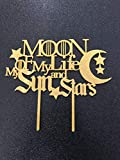 Moon of My Life My Sun and Stars ACRYLIC Cake Topper, Game of Thrones Cake Topper, Game of Thrones Wedding Cake, Winter is Coming, GOT Party Toppers