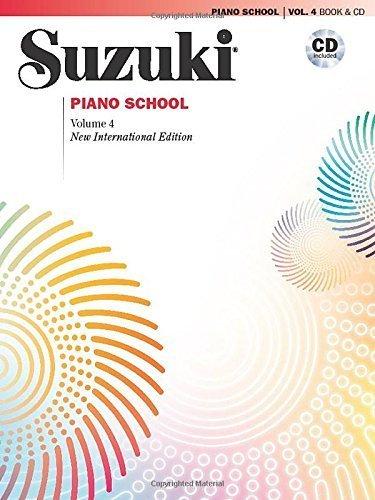 (Suzuki Piano School, Vol 4: Book & CD (Suzuki Method Core Materials) by Alfred Publishing (2009-01-15))