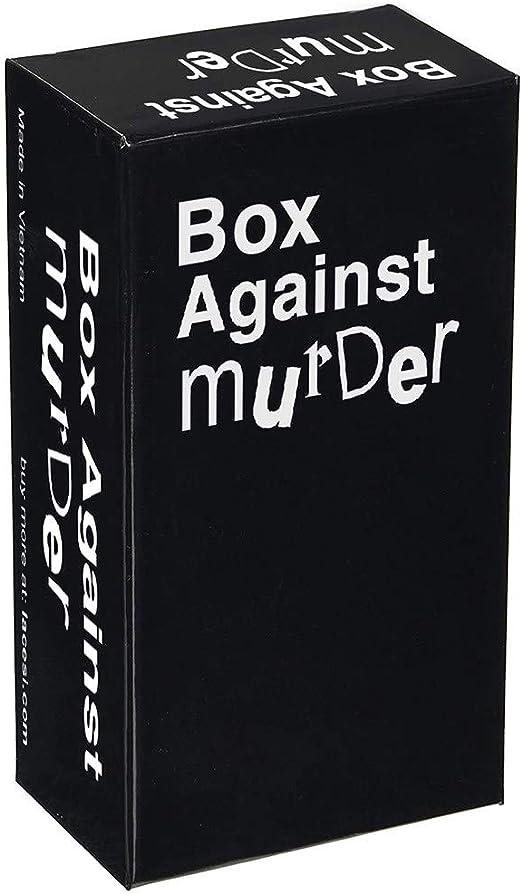 Box Against Murder - Juego de mesa con 300 cartas: Amazon.es: Hogar