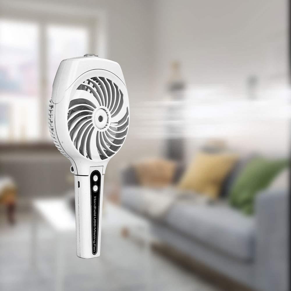 Dr  Prepare Portable Handheld Mist Spray Cooling Fan, USB or