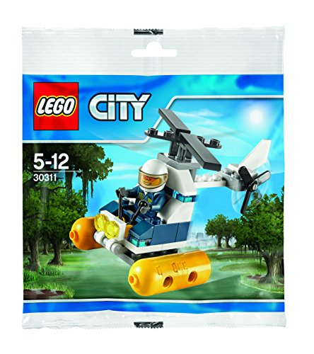 LEGO City: Swamp Police Helicopter Set 30311