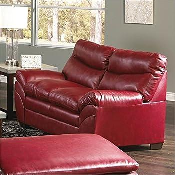 Amazon Com Simmons Upholstery Soho Bonded Leather