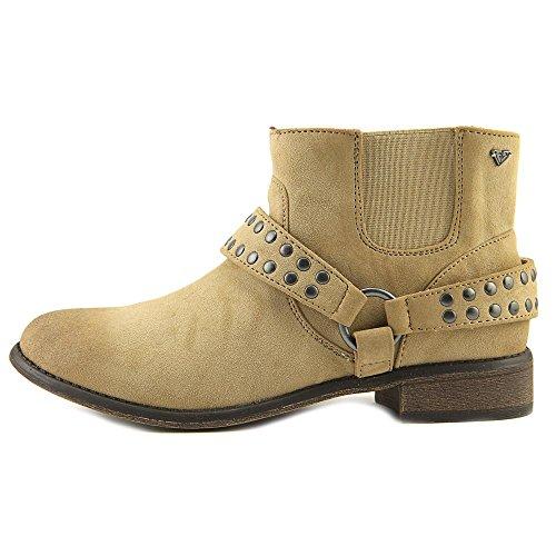 Cowboy ARJB700379 Boots Toe Roxy Beige Womens Round Ankle qFTxwXZ