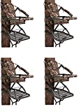 Summit Treestands 81120 Viper SD Climbing Treestand, Mossy Oak (Pack of 4)