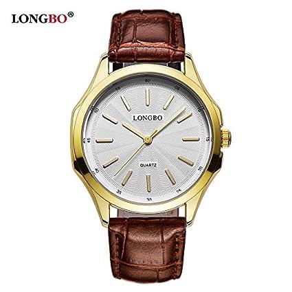 Zhangzz Reloj De AltaLongbo Gama Pareja 80233 1FJ3uclTK