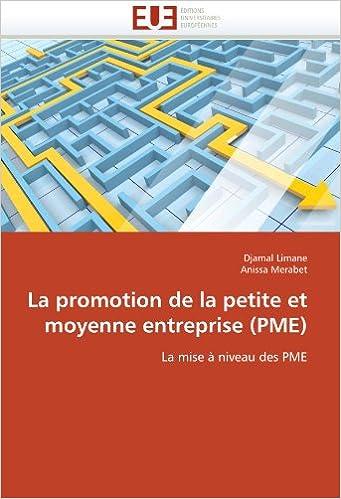 Livres gratuits en ligne La promotion de la petite et moyenne entreprise (PME): La mise à niveau des PME pdf epub