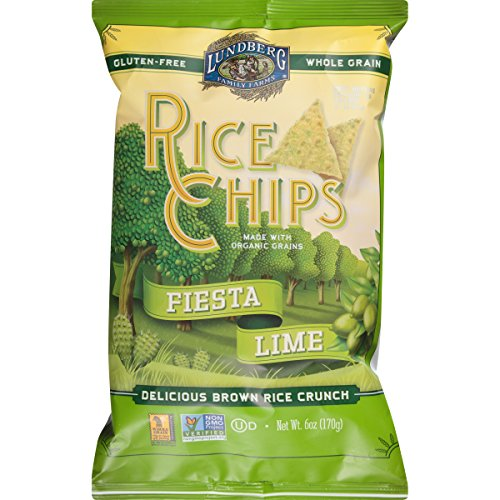 Lundberg Rice Chips, Fiesta Lime, 6 oz