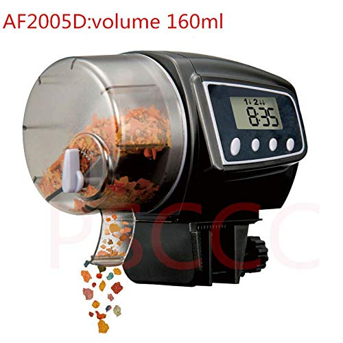 New Edify Ltd LCD Electronic Automatic Fish Feeder Dispenser Timer Automatic Tank Food Feeding Machine Auto Fish Feeder Timer by New Edify Ltd (Image #3)