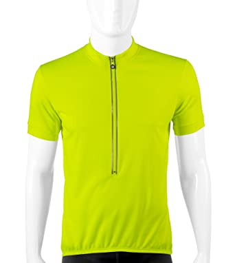 Amazon.com  Tall Men s High Viz Safety Yellow Jersey - Made in USA  Clothing d073a5851