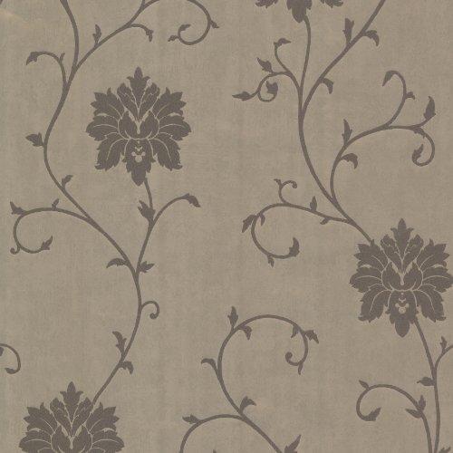 Beacon House 450-58942 Dahli Floral Trail Wallpaper, -