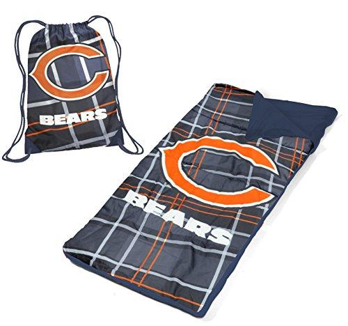 Idea Nuova NFL Chicago Bears Drawstring Bag with Sleeping Sack