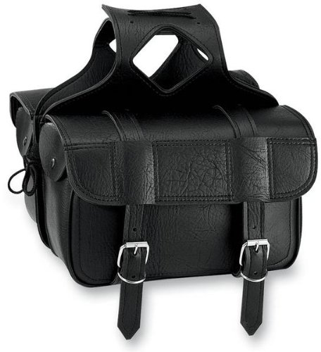 All American Rider Flap-Over Saddlebag - 11in.L x 6in.W x 9.5in.H 3015