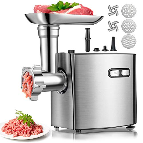Electric Meat Grinder | cheffano ALTRA Meat Processor with Sausage