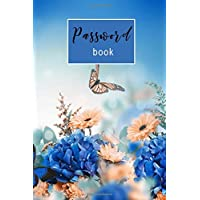 "Password Book: Internet Password Organizer: 6"" x 9"" Small Password Journal and Alphabetical Tabs 