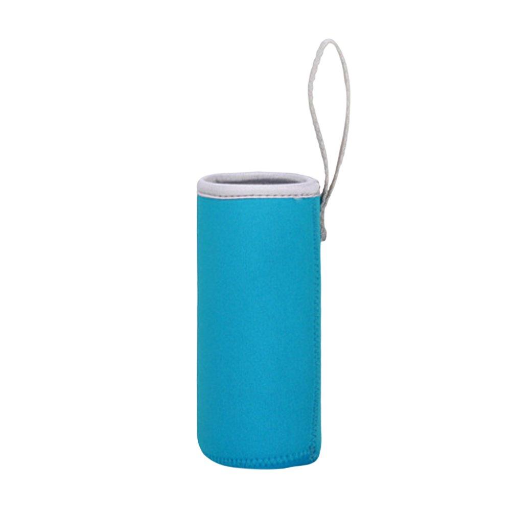 BESTO nzon bottiglie protezione Custodia in Neoprene 550/ML bottiglie termica tasche 6,8/x 19/cm ghiaccio blu