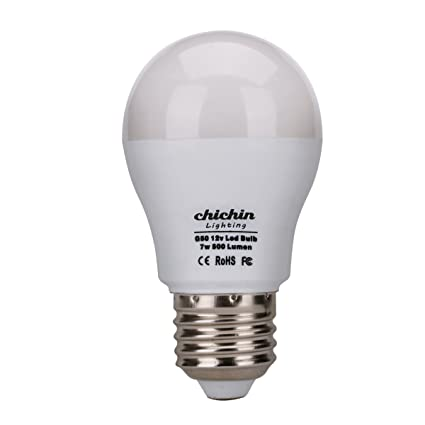 ChiChinLighting 12v E26 LED Bulbs 7 Watts 12 Volt LED Lights AC DC Compatible RV C&er  sc 1 st  Amazon.ca & ChiChinLighting 12v E26 LED Bulbs 7 Watts 12 Volt LED Lights AC DC ...