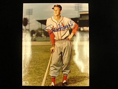 Stan Musial Autographed Photo - Autographed Stan Musial Photo - 8 x 10 Color - Autographed MLB Photos