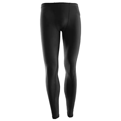 YAHA Men's Cool Dry Compression Base layer Pants Legging Long Tights