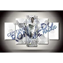 Cristiano Ronaldo Soccer Player print canvas decoration 5 pieces