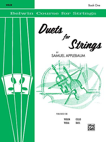 Duets for Strings, Book 1, Violin (Belwin Course for Strings)