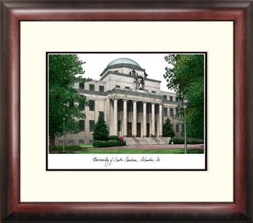 NCAA South Carolina Fighting Gamecocks Alumnus Framed Lithograph ()