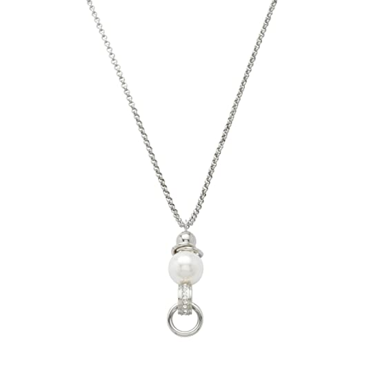 fossil kette charm
