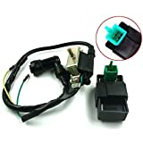 New Ignition Coil + CDI for Chinese Dirt Bike Go Kart Moped 50 70 90 110 CC 125CC