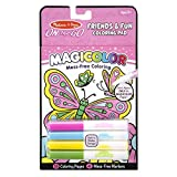Our amazing Magicolor technology lets children pick a marker, fill a scene, and see colors magically appear on the page--all completely mess-free! The four included markers have ink that's invisible anywhere else but creates instant color on the 18 p...