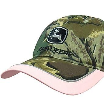 John Deere gorra rosa de camuflaje para mujer: Amazon.es: Ropa y accesorios