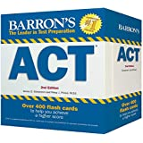 Barron's ACT Flash Cards: 410 Flash Cards to Help You Achieve a Higher Score