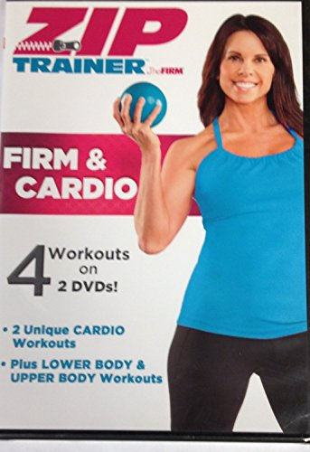 Zip Trainer by The FIRM Firm & Cardio 4 Workouts on 2 DVDs