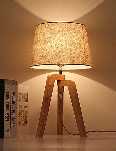 SSBY Schreibtischlampen-Augenschutz-Modern/Zeitgemäß-Holz/Bambus , warm white-220-240v