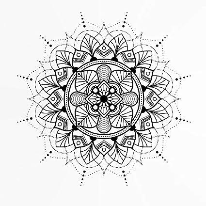 Shine raggi/Star Round mandala medaglione riutilizzabile stencil A3A4A5& Big misure da parete moderna mobili fai da te m.5, matita in PVC riutilizzabile, A4 size - 210 x 297 mm, 8.3 x 11.7 in Artistic Sponge