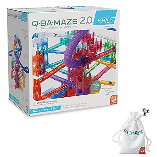 Q-BA-MAZE 2.0: RAILS EXTREME WITH FREE MARBLES AND for sale  Delivered anywhere in USA