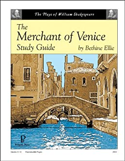 the merchant of venice study guide bethine ellie 9781586093754 rh amazon com merchant of venice study guide questions merchant of venice study guide questions and answers