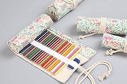 Estuche para lápices enrollable para 36 lápices de colores ...